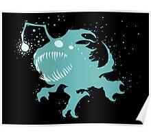 Deep Sea Kog'Maw Ink Black Poster