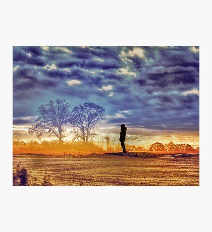 Sunset Contemplation Photographic Print