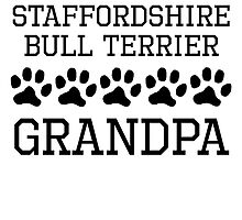 Staffordshire Bull Terrier Grandpa by kwg2200