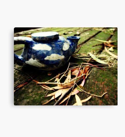Wild Teapot Canvas Print