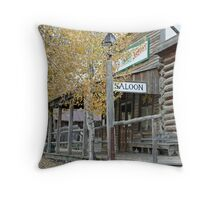 """Old Saloon"" Throw Pillow"