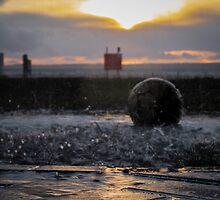 Splashes at Sunset by WillBov
