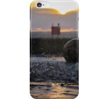 Splashes at Sunset iPhone Case/Skin