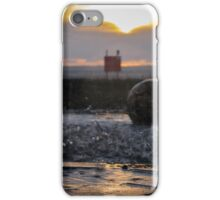 Splashes at Sunset iPhone Case/Skin