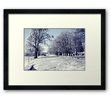 After an Ice Storm Framed Print