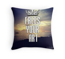 FYA - Frees Your Art #3 Throw Pillow