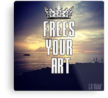 FYA - Frees Your Art #3 Metal Print