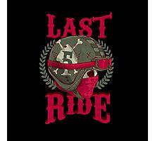 Last Ride Photographic Print