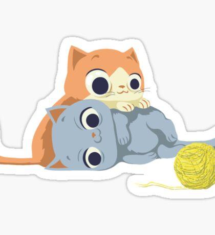 sweet kittens Sticker