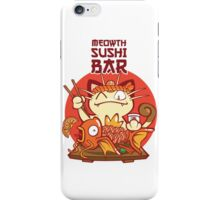 Sushi Bar iPhone Case/Skin
