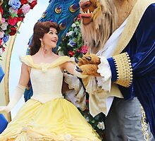 Beauty and the Beast Fantasy Parade by RozeeRossi