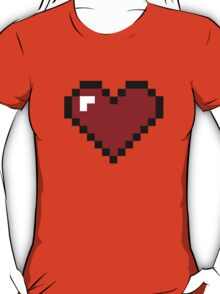 8 Bit Heart T-Shirt