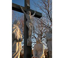 Jesus and Mother Mary Photographic Print