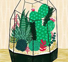 Terrarium - Geodesic Plant for Succulents and Cactus by Andrea Lauren by Andrea Lauren