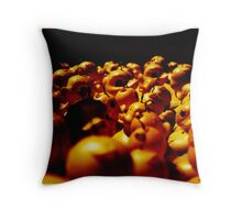 All the ducks are swimming Throw Pillow