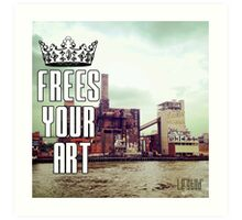 FYA - Frees Your Art #2 Art Print
