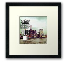 FYA - Frees Your Art #2 Framed Print