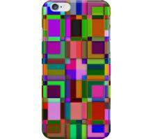 Square overlap color iPhone Case/Skin