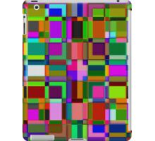 Square overlap color iPad Case/Skin