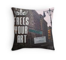 FYA - Frees Your Art #4 Throw Pillow