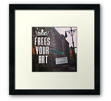 FYA - Frees Your Art #4 Framed Print