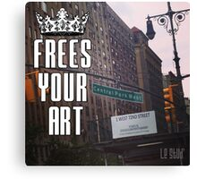 FYA - Frees Your Art #4 Canvas Print