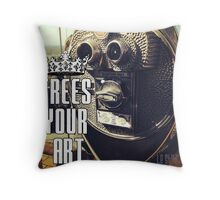 FYA - Frees Your Art #5 Throw Pillow