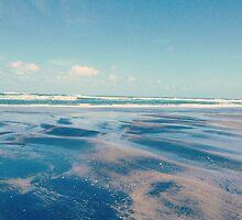 piha beach  by Mimi Huang