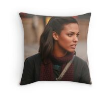 Freema Agyeman AKA Martha Jones Throw Pillow