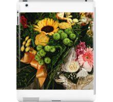 Wedding bouquets iPad Case/Skin