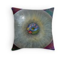 Window To My Mind Throw Pillow