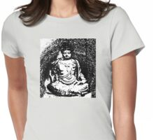 Buddha of Compassion 3 - Design 1 Womens Fitted T-Shirt