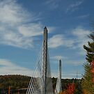 Bridge to Verona Island, Maine by Linda Jackson