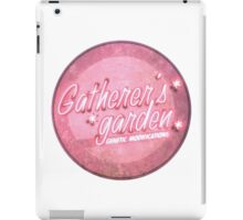 BioShock – Gatherer's Garden Genetic Modifications Logo (Bright Pink) iPad Case/Skin