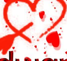 I Love Edward Sticker