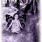 Faerie Princess in Her Forest by dimarie