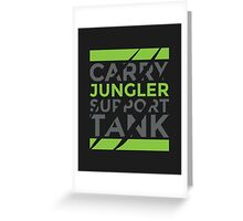 Jungler Greeting Card
