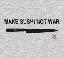 Make Sushi Not War (Kuro) by yuisato