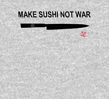 Make Sushi Not War (Kuro) Unisex T-Shirt