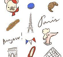 Bonjour Paris by fluffymafi