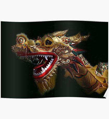 Golden Dragon - Bendigo Easter Parade Poster