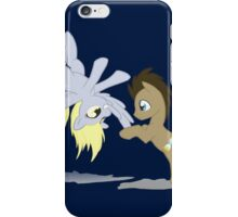 Derpy and Doctor Whooves iPhone Case/Skin