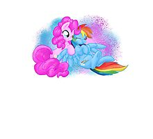 Pony Hugs Photographic Print