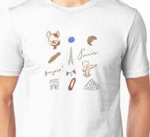 Bonjour Paris Unisex T-Shirt