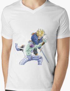 TRUNKS VS FRIEZA Mens V-Neck T-Shirt
