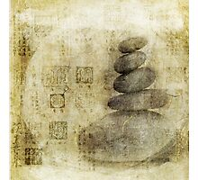 Stone Meditation Photographic Print
