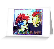 Jonny - Remember Me? Greeting Card