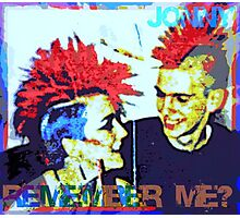Jonny - Remember Me? Photographic Print