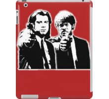 Pulp Fiction Black and White iPad Case/Skin