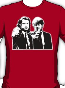 Pulp Fiction Black and White T-Shirt